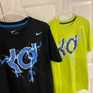 Bundle of Two Nike Kevin Durant Graphic Tees